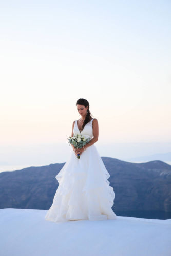 Santorini Bridal Hairstyles & Bridal Makeup (20)
