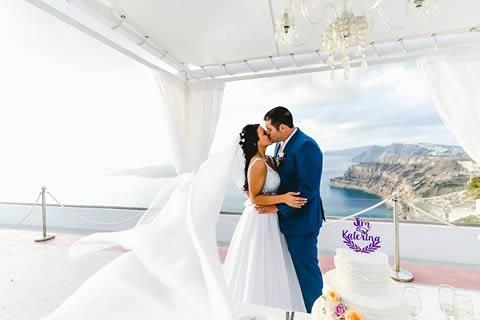 Santorini Bridal Hairstyles & Bridal Makeup (34)