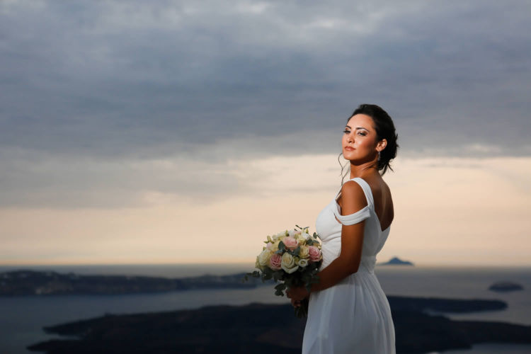Santorini Bridal Hairstyles & Bridal Makeup (37)