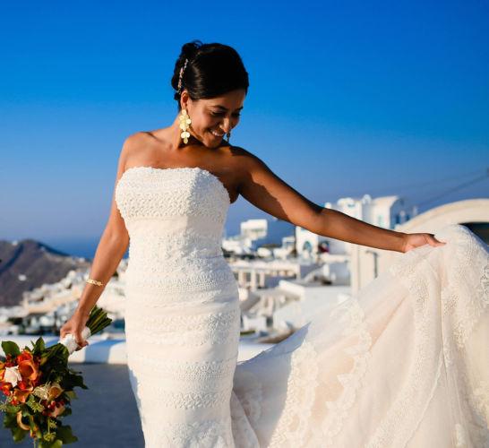 Santorini Bridal Hairstyles & Bridal Makeup (40)